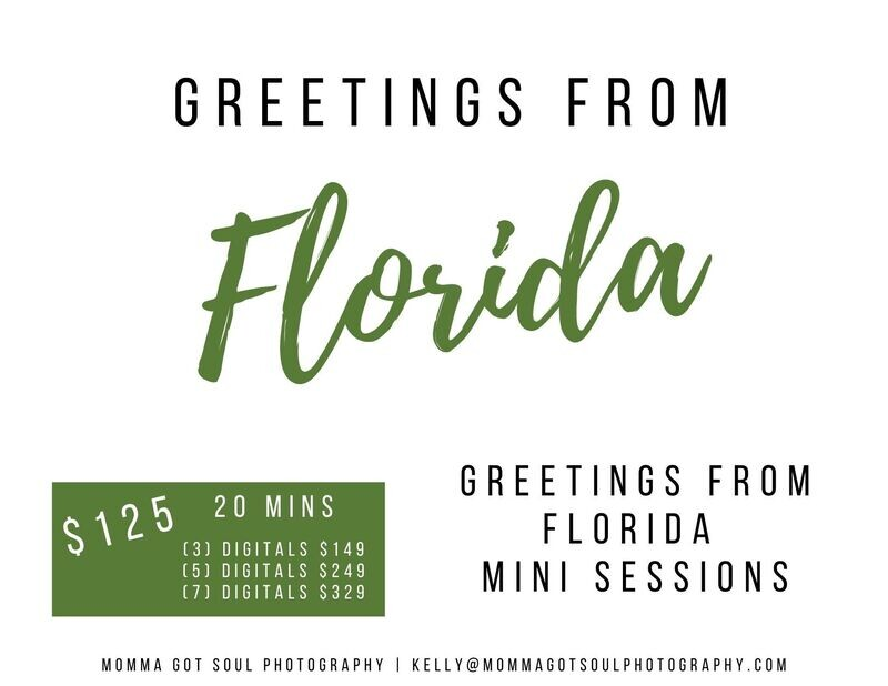 Greetings From Florida Fall Mini Sessions