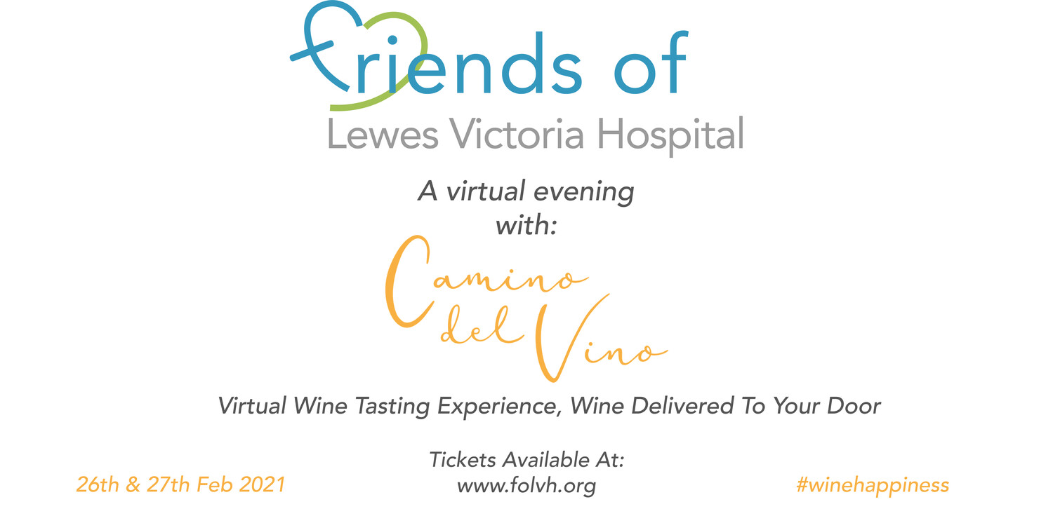 An evening with Camino del Vino - Virtual Wine Tasting Experience - COUPLE PACKAGE - Admits 2  *SOLD OUT*