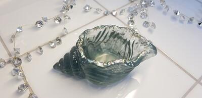 Kawaii Conch Trinket holder Greyish green