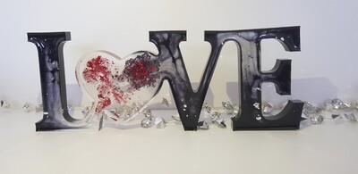 LOVE Black/Red