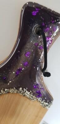 Serving board/platter Deep Purple