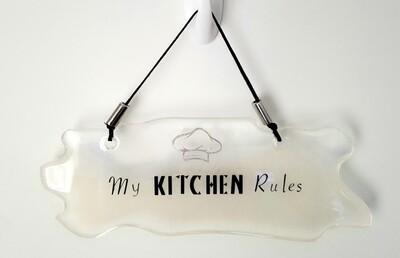 My Kitchen Rules novelty sign