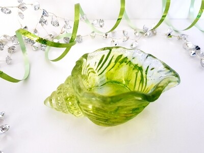 Lime green conch