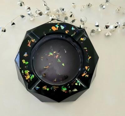 """""""Black opal"""" ashtray"""