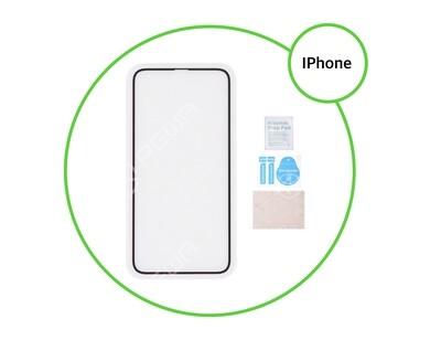 Vitre de protection iPhone (choisir modèle)