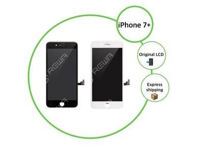 Ecran lcd iPhone 7 Plus (noir/blanc)