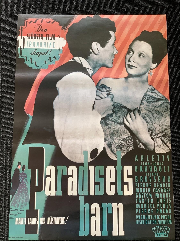 Filmaffisch: Paradisets barn