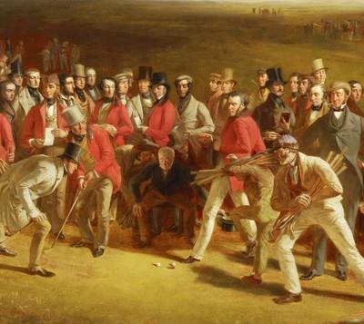 Charles Lees 'The Golfers' 1847