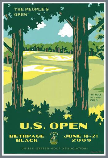 US Open Bethpage Black 2009