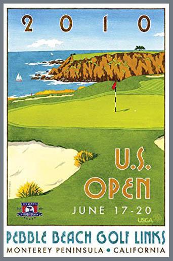 US Open Pebble Beach 2010