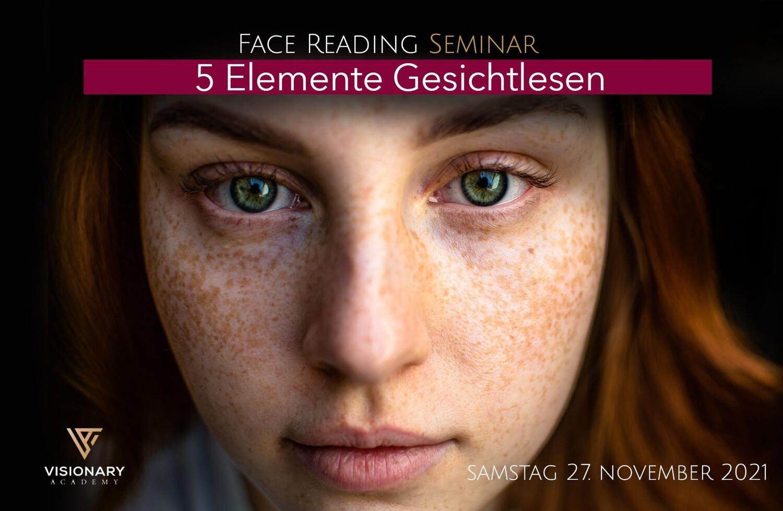 27.11. 5 Elemente Gesichtlesen/ Face Reading Seminar