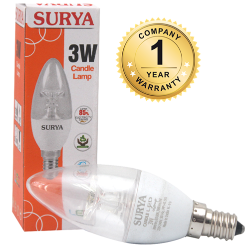 SURYA LED Candle Bulb