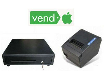 """iPAD LAN Printer & 13"""" STAR CD3  Cash Drawer Bundle Bundle05"""