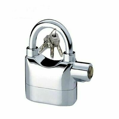 Automatic  Alarm Padlock With  Alarm lock Siren  for home & office security