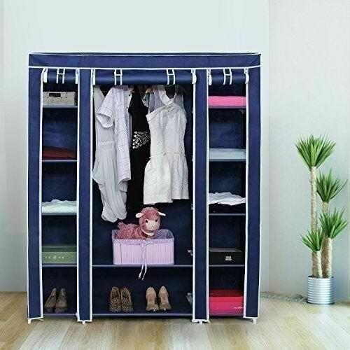 3 Columns Portable Wardrobe