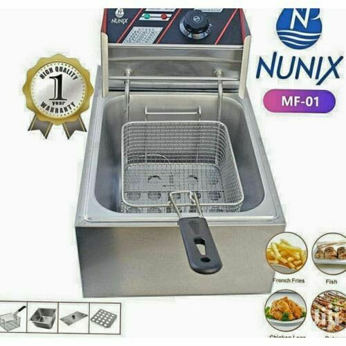 Stainless Steel Electric Deep Fryer 6 Litres