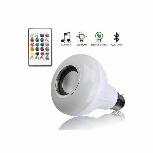 Generic Music Bulb - Light - Bluetooth Control Smart Music Audio Speaker
