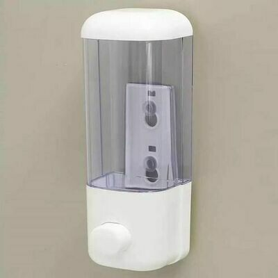 Wall-Mount Manual Dispenser for Soap ,Sanitizer Shower  Shampoo  With Lock