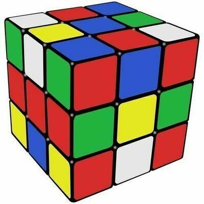 Multi-colored  Magic RubiK Cube