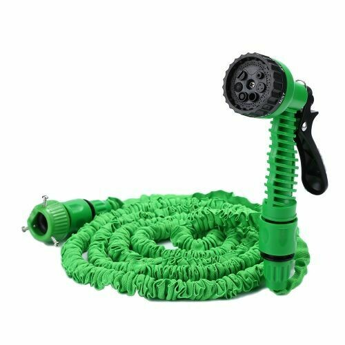 25-100FT Expandable Garden Hose Pipe with 7 in 1 Spray Gun To water the flowers Car Wash 75FT(7.5METERS)