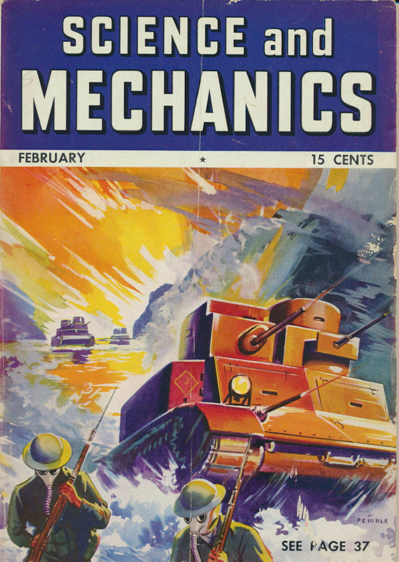 Science and Mechanics February 1941 Magazine