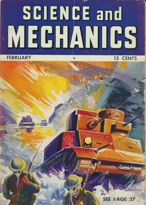 Science and Mechanics February 1941 Magazine