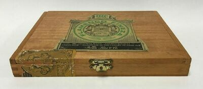Iwan Ries & Co. (IRC) Flamenco Fineza Cigar Box – Canary Islands c1960s