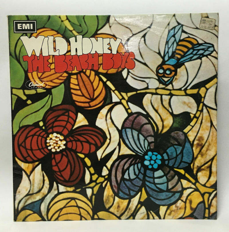 """Wild Honey"" Stereo LP ST-2859 by the Beach Boys on the UK Capitol / EMI Rainbow Label 1967"