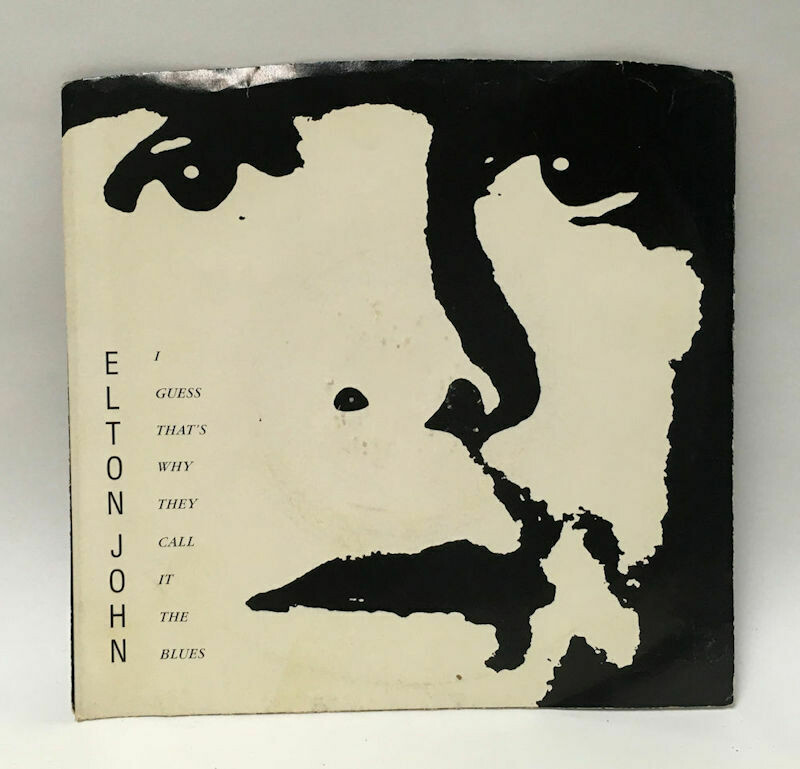 """Elton John - I Guess That's Why They Call It The Blues - Geffen 7-29460 - 1983 7"""" Single 45 RPM"""