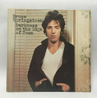Bruce Springsteen Darkness On The Edge Of Town LP Near Mint With Lyrics Sheet 1978