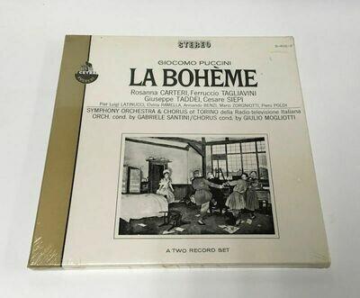 Giacomo Puccini – La Bohème Cetra Everest Stereo S–402/2 - 2 LP Set Sealed 1967