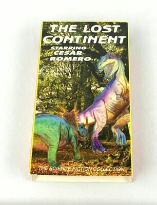 The Lost Continent (VHS) 1999 Release of 1951 Science Fiction Cesar Romero HSV9571