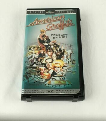 American Graffiti (VHS, 1998, 25th Anniversary Special Edition Clamshell THX Digital Remaster