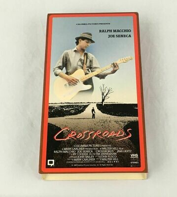 RARE OOP Crossroads VHS film 1986