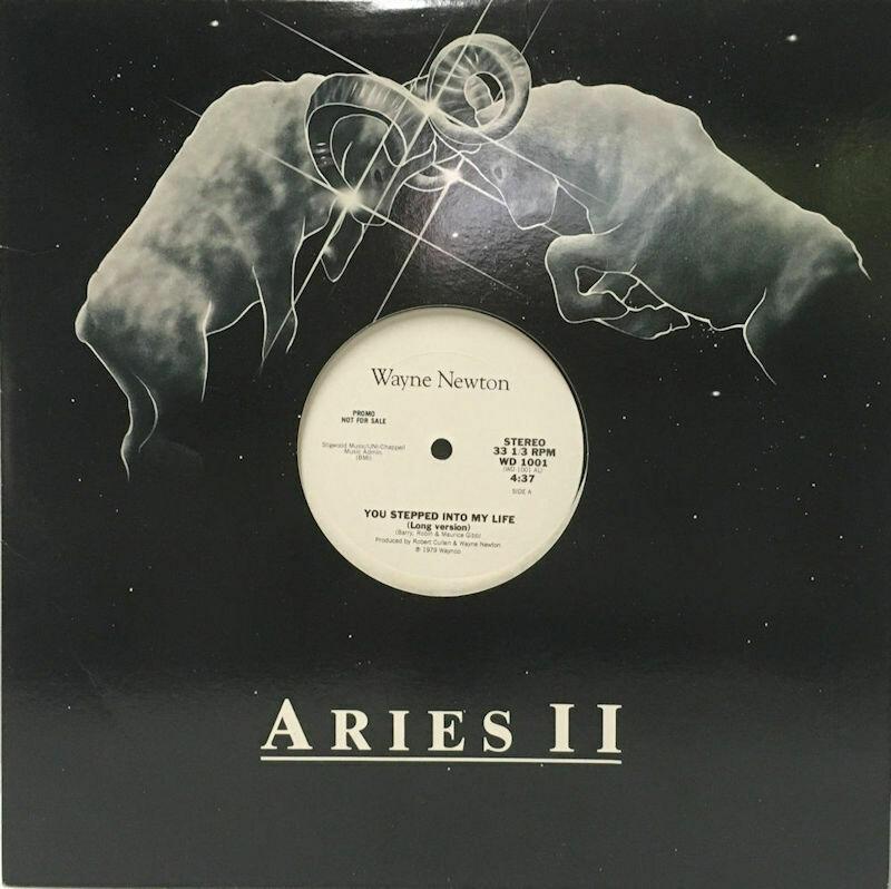 Wayne Newton Aries II You Stepped Into My Life (Waynco WD1001) 1979 Promo LP 33 1/3