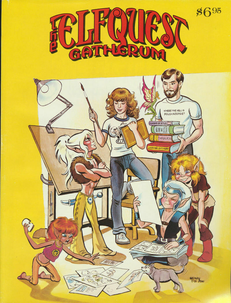The Elfquest Gatherum Issue #: 1 1981 First Printing Softcover