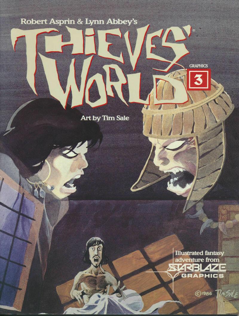 Thieves World Graphics 3 by Robert Asprin & Lynn Abbey - Paperback, 1986
