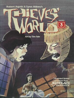 Thieves World Graphics 3 by Robert Asprin & Lynn Abbey - Paperback, 1986