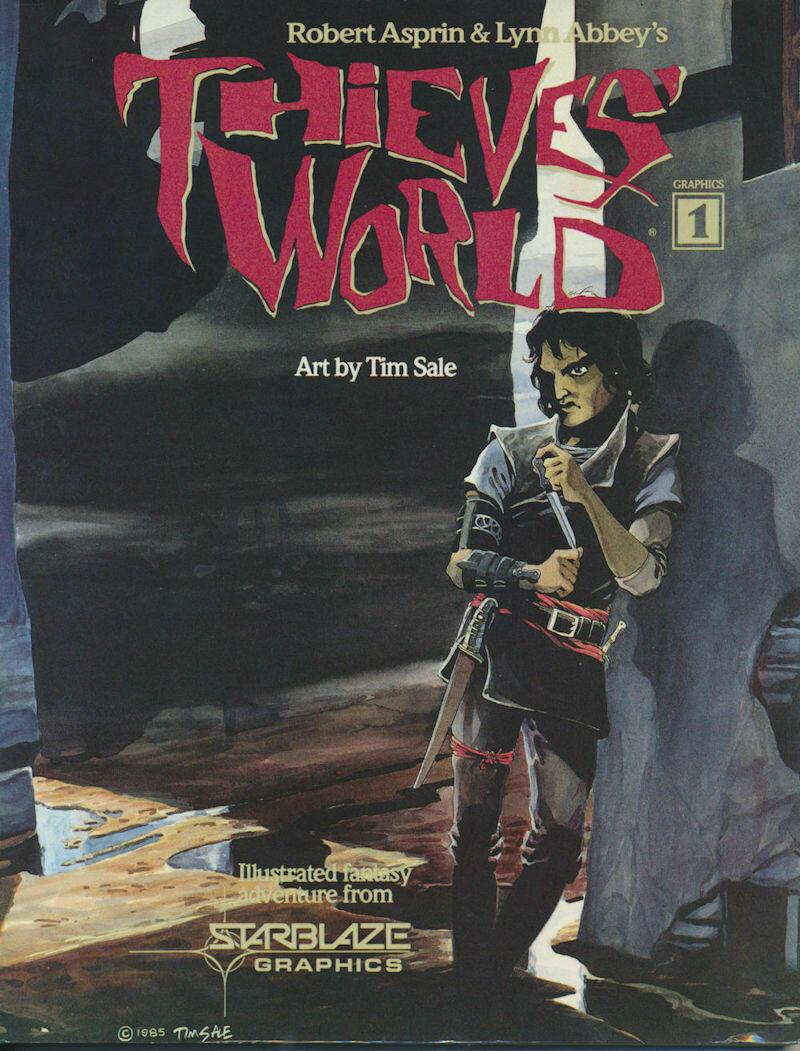 Thieves World Graphics 3 by Robert Asprin & Lynn Abbey -Paperback, 1985