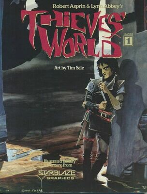 Thieves World Graphics 3 by Robert Asprin & Lynn Abbey -Paperback, 1985