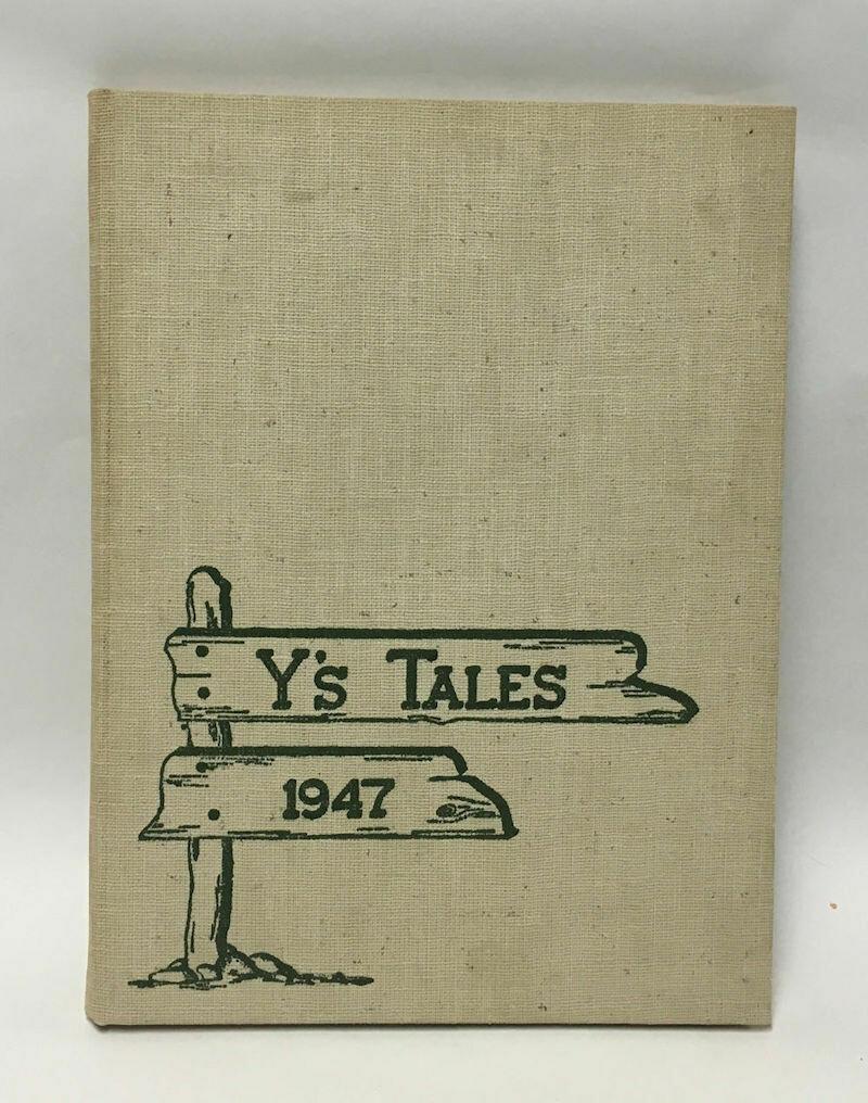 Y'S Tales 1947 Yearbook York Community High School Elmhurst, IL HC