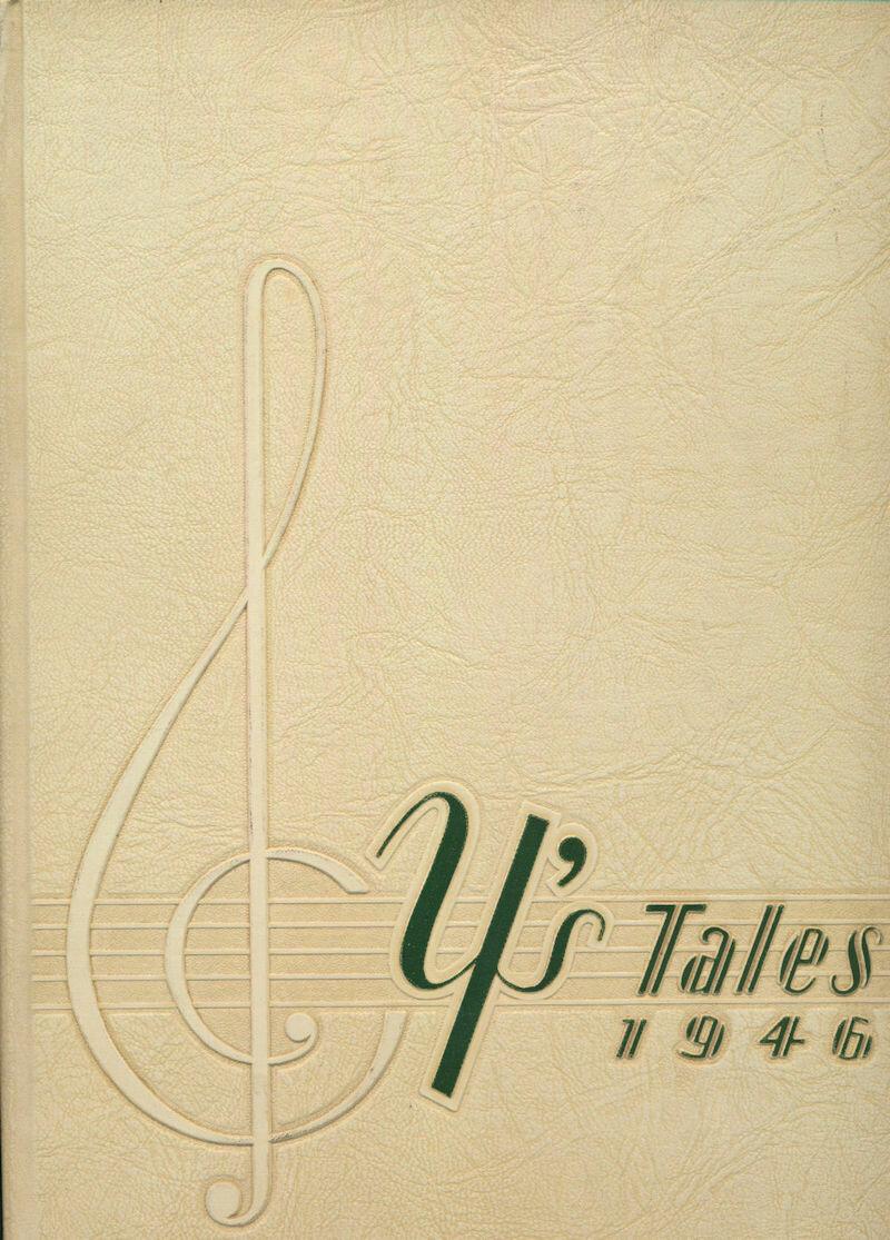 Y's Tales 1946 Yearbook York Community High School Elmhurst, IL