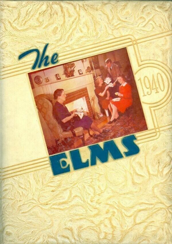 The Elms 1940 Yearbook - Elmhurst College - Elmhurst, IL