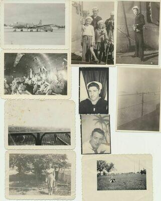 1940s WWII Era Naval Shanghai Texans – 10 Real Photos