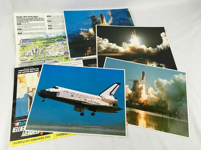 NASA Space Collection Set of 4 Photos 8x10 & Brochure