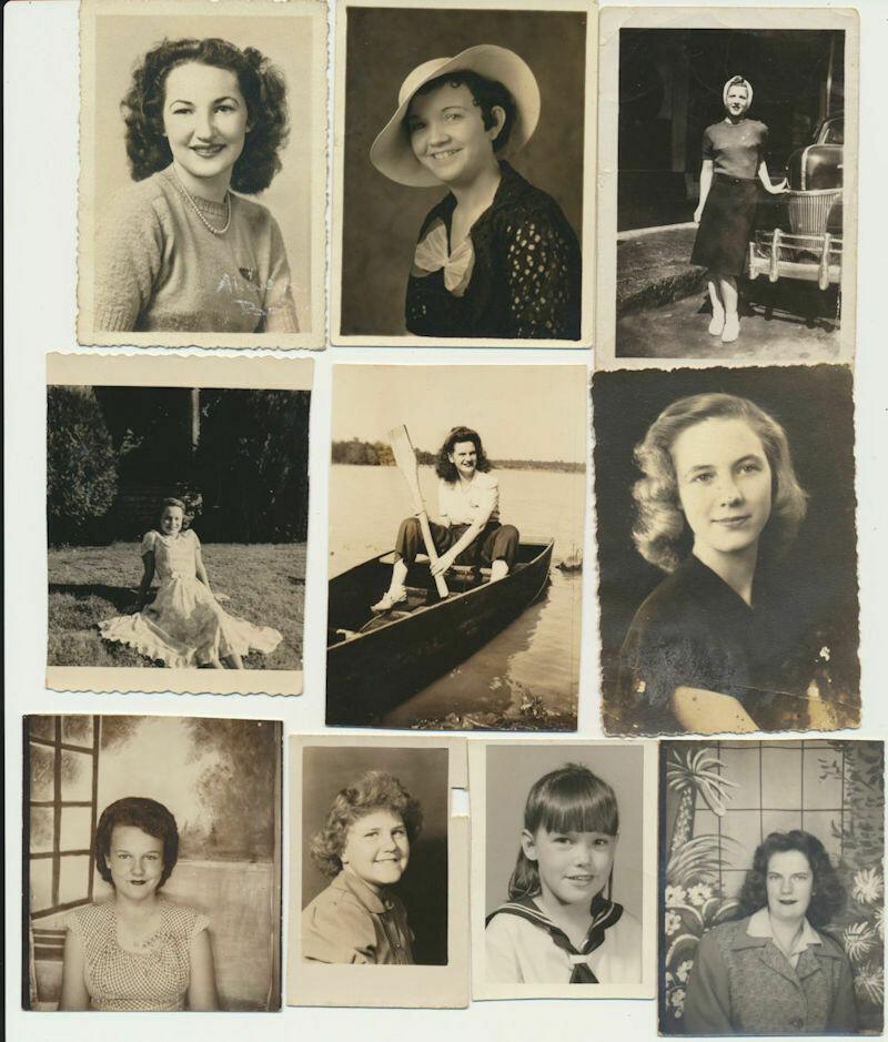 1940s-1960s Texans Girls 26 Real Photos