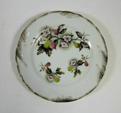 Lefton NE4256 Vintage Snack Plate - 7-1/8