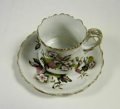 Lefton NE4254 Vintage Cup and Saucer Set