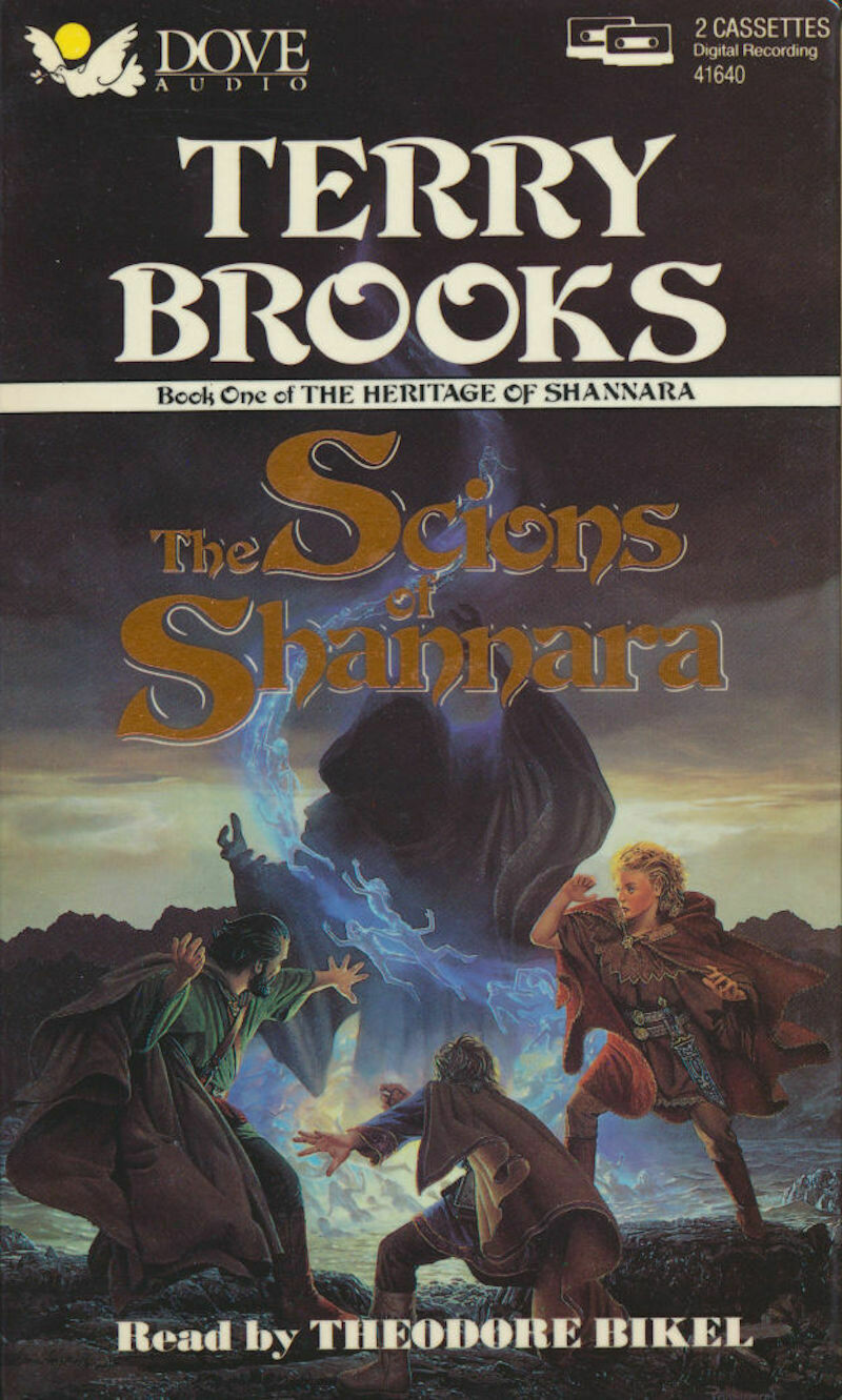 The Heritage of Shannara by Terry Brooks - Series of Three Books (6 Audio Cassettes) Theodore Bikel (Reader) by Dove Audio 1991-1992