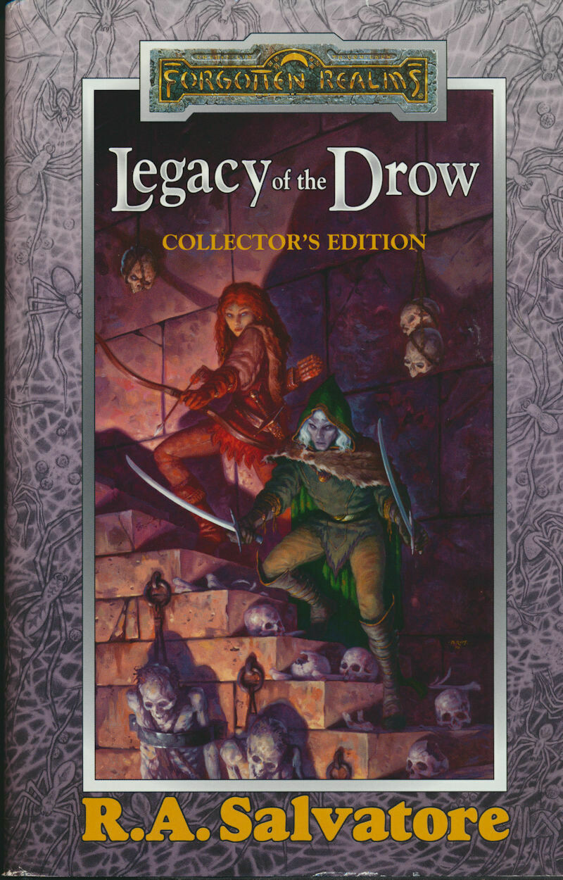 Legacy of the Drow: Collector's Edition - R.A. Salvatore HC/DJ